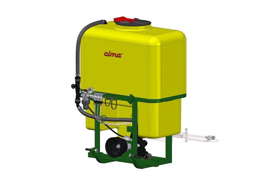 Herbicidní rám CIMA DS – 200 až 400L